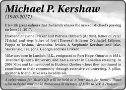 Michael P. Kershaw