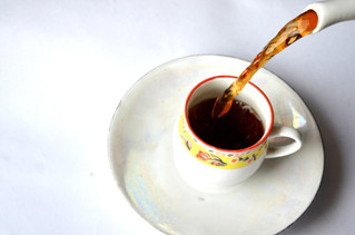 Tea'd off