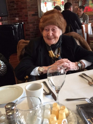 Ruth MacLeod Salter turns 105 years young with family and friends in fine style