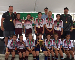 U11FA Hawks soar to new heights and win Laval International Cup 2017
