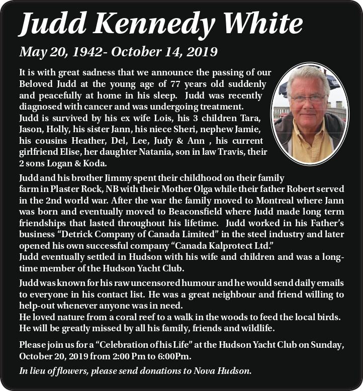 Judd Kennedy White