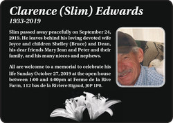 Clarence Slim Edwards
