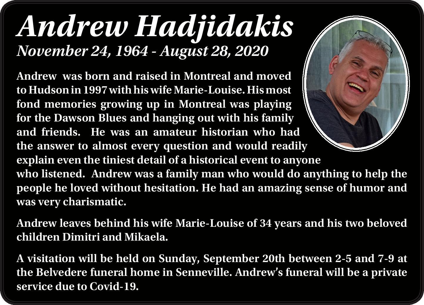 Andrew Hadjidakis