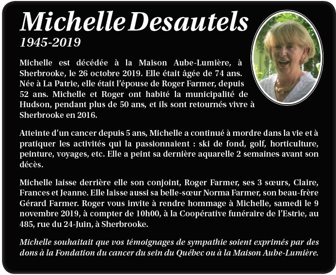 Michelle Desautels