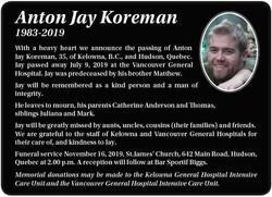 Anton Jay Koreman