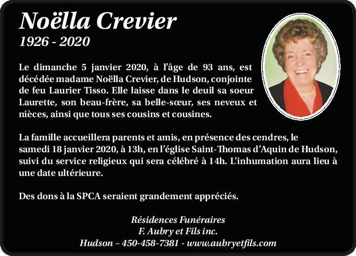 Noëlla Crevier