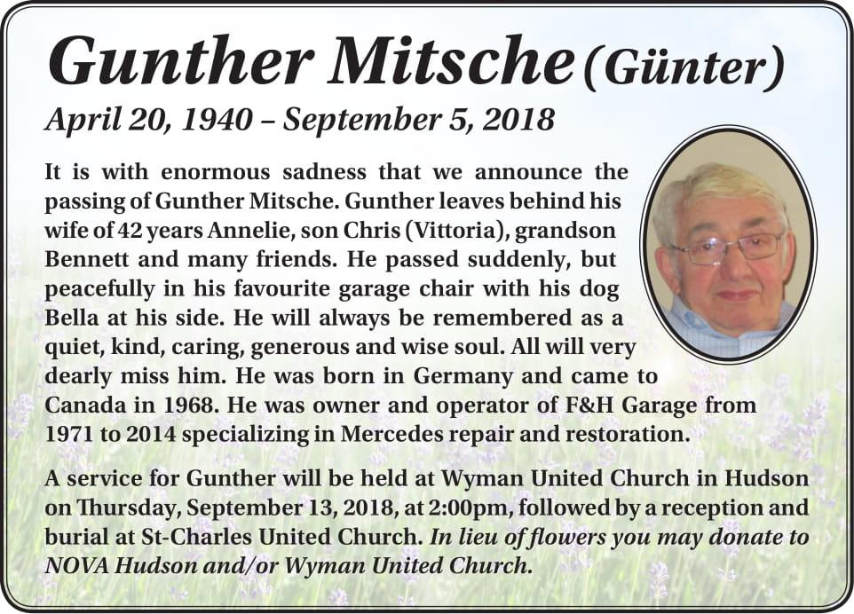 Gunther Mitsche
