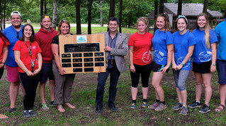 Counsellors recognized for their energy and enthusiasm