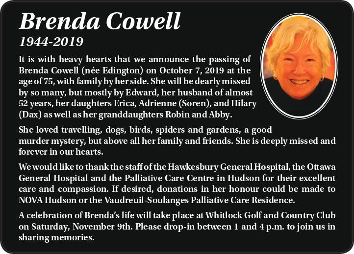 Brenda Cowell