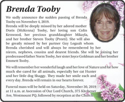 Brenda Tooby