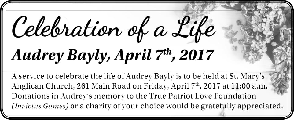 Audrey Bayly