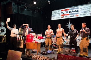 Hudson's 38th Annual Firemen's Christmas charity auction a roaring success