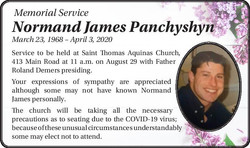 Normand James Panchyshyn