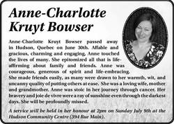 Anne-Charlotte Kruyt Bowser