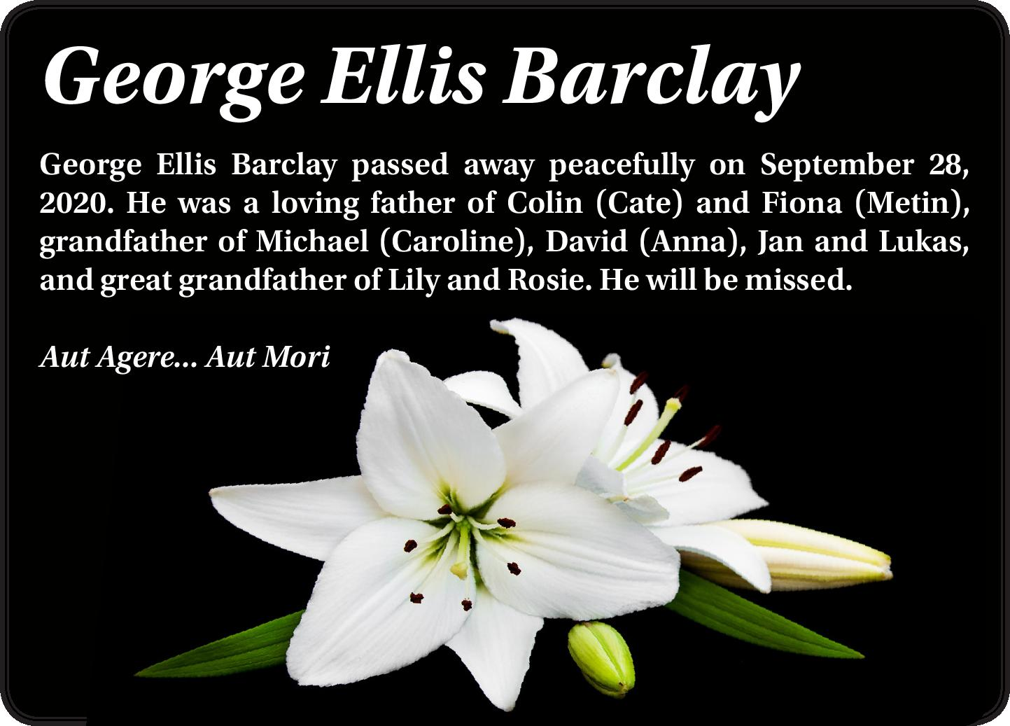 George Ellis Barclay