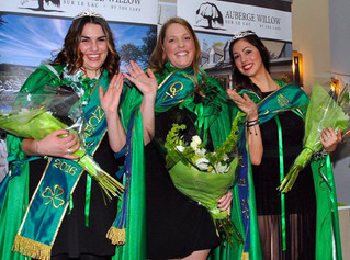 Introducing the 2016 Irish Royalty for Hudson's St. Patrick's Day parade