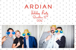 F 2-POSES Post card 4x6-INSTABOX-2016 ARDIAN