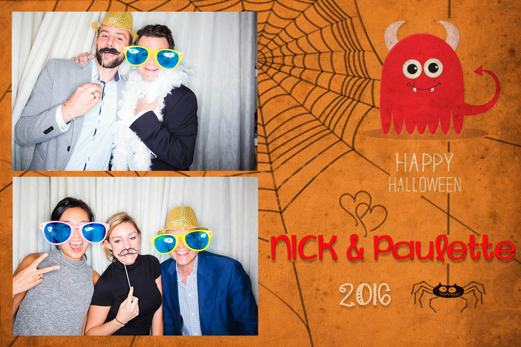 C-Nick-&-Paulette-Hallowen-2016-2POSES-Post-card-4x6-INSTABOX-2016-ARDIAN