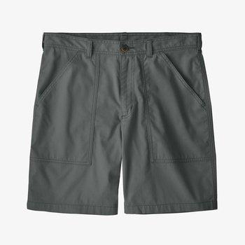 Organic Cotton Twill Utility Shorts- 8''