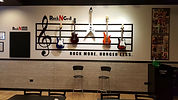 Rock N Grill Guitar Wall