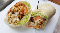 Home Style Chicken Wrap