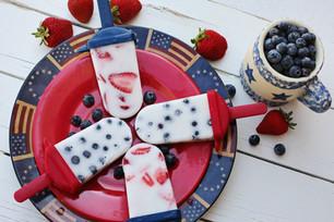 Patriotic Popsicles