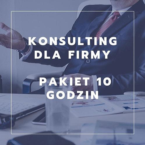 Konsulting dla niewielkiej firmy