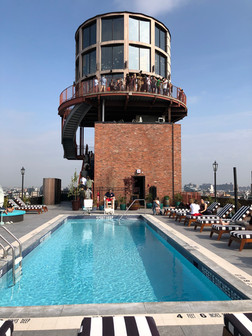 The Water Tower Bar at The Williamsburg Hotel