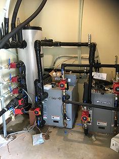 geothermal radiant install