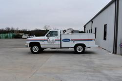 B&L Restoration Service Truck 1982