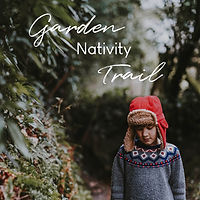 Garden nativity trail - website graphic.