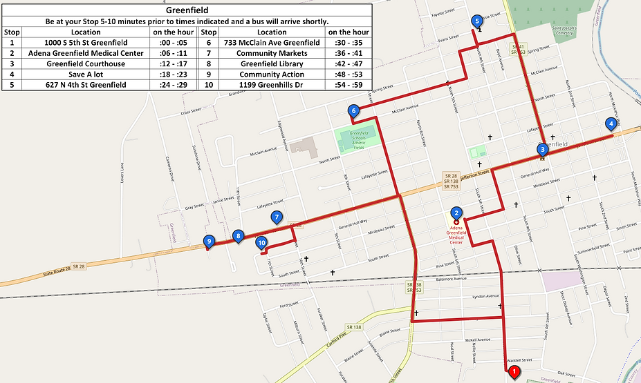 Greenfield Map with Timetable - 2.png