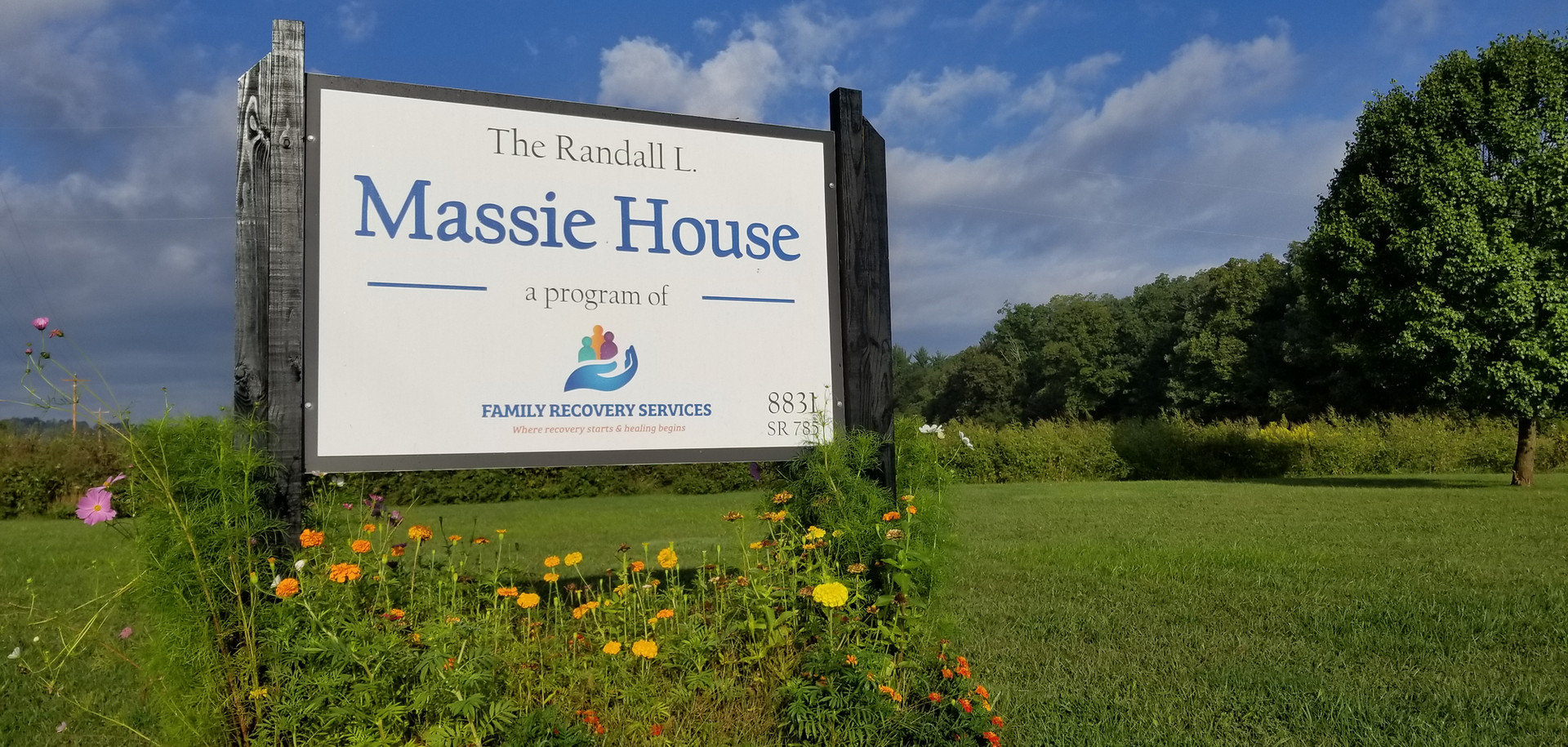 Massie House Sign