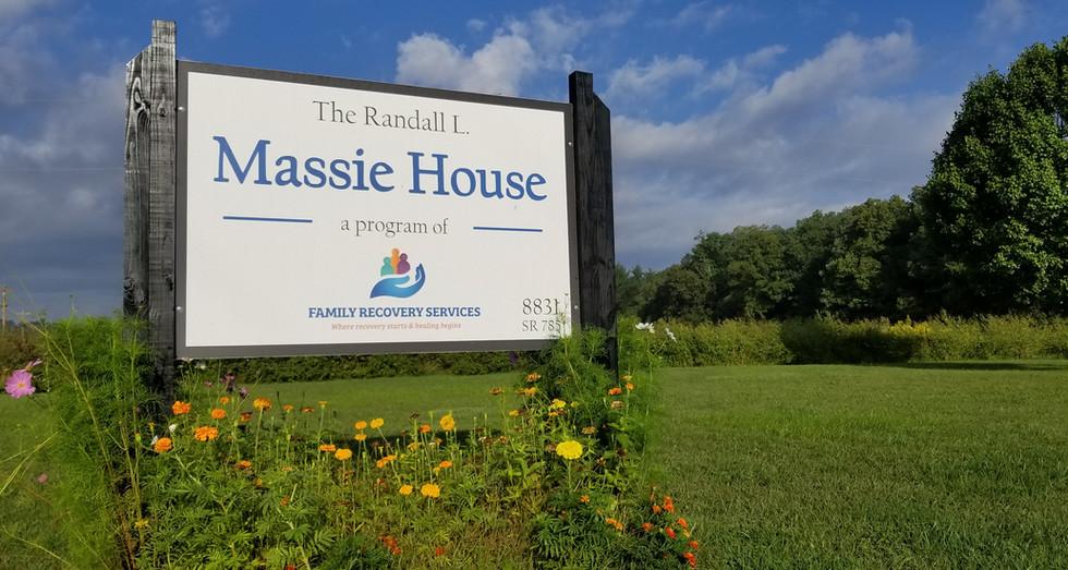 Massie House Sign