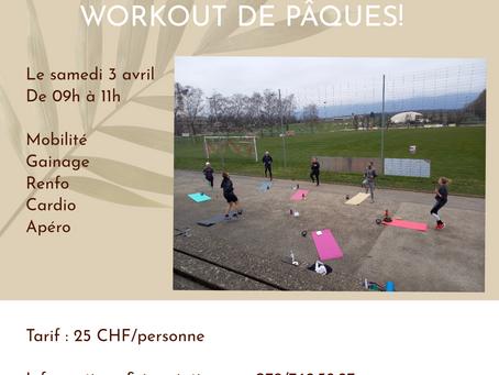 EVENT - Workout de Pâques ! 🥚🍫
