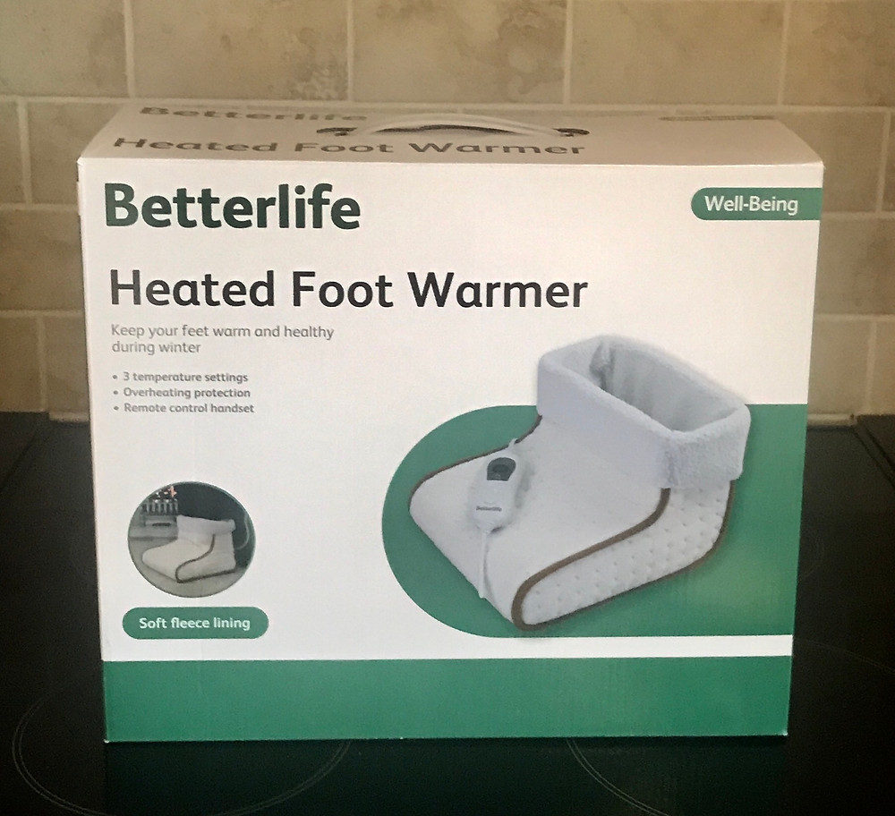 The Betterlife heated foot warmer box