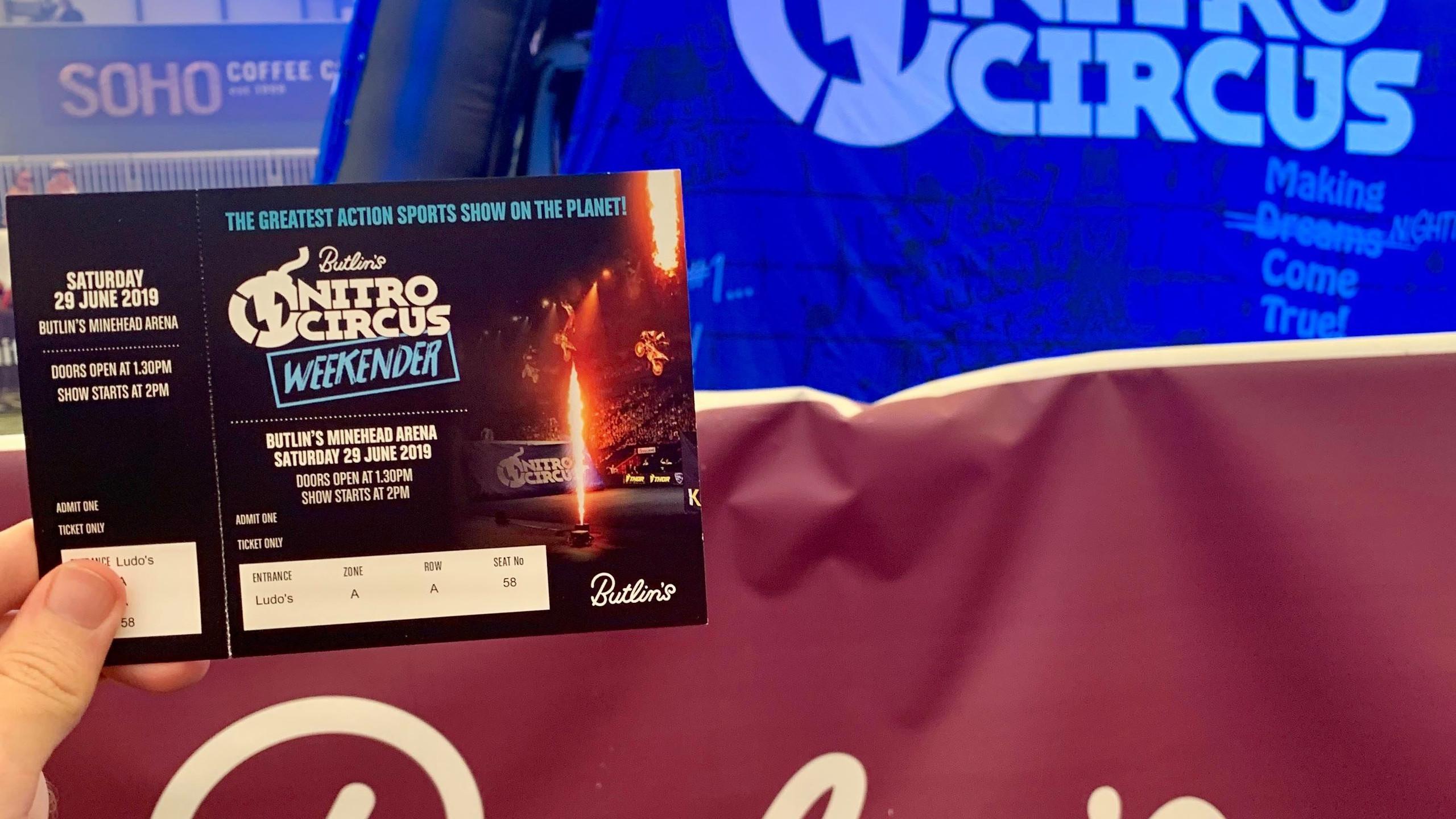 Nitro Circus ticket
