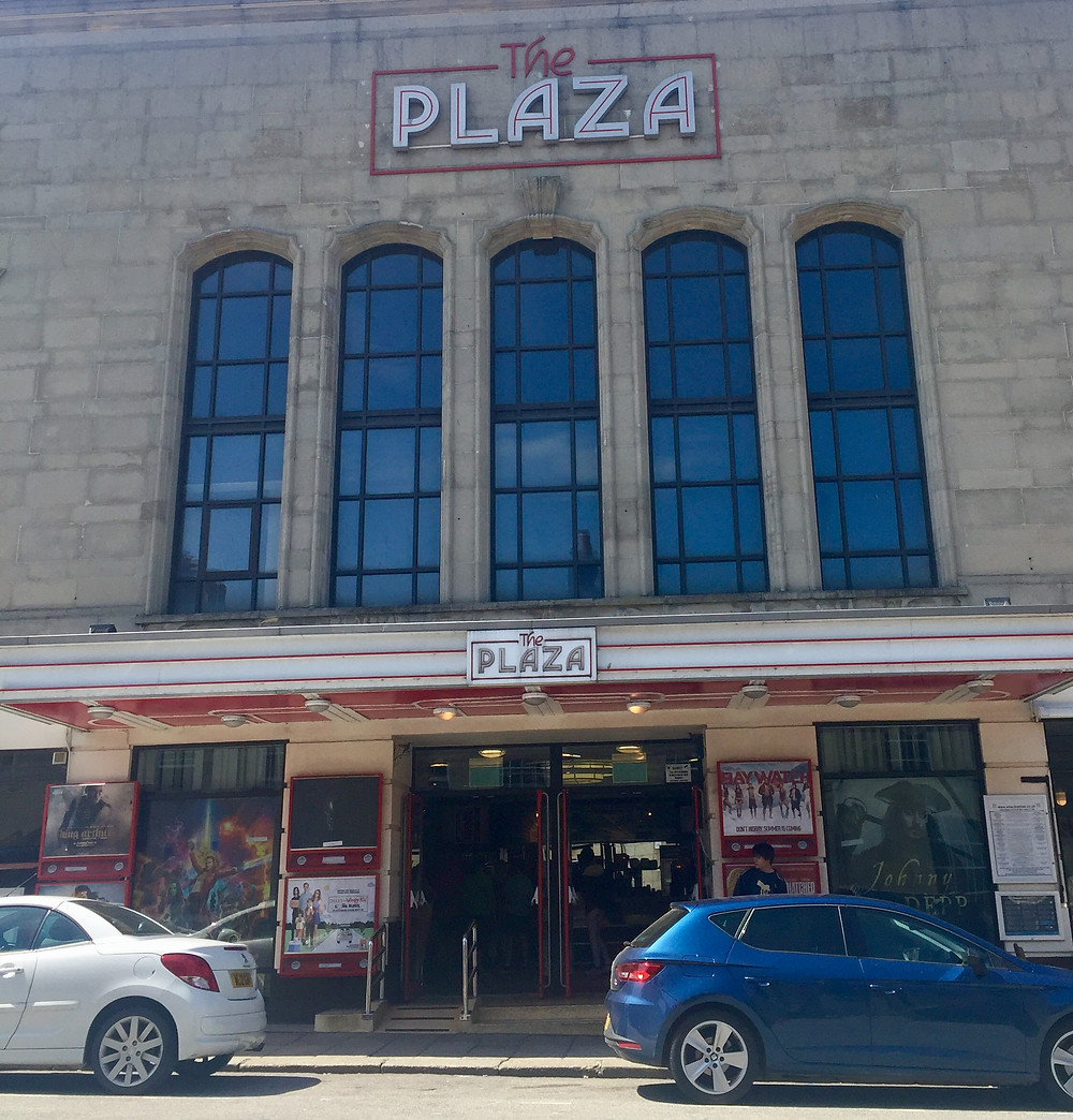 View of The Plaza building from the outside