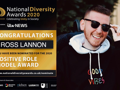 Nominated for a National Diversity Award!!