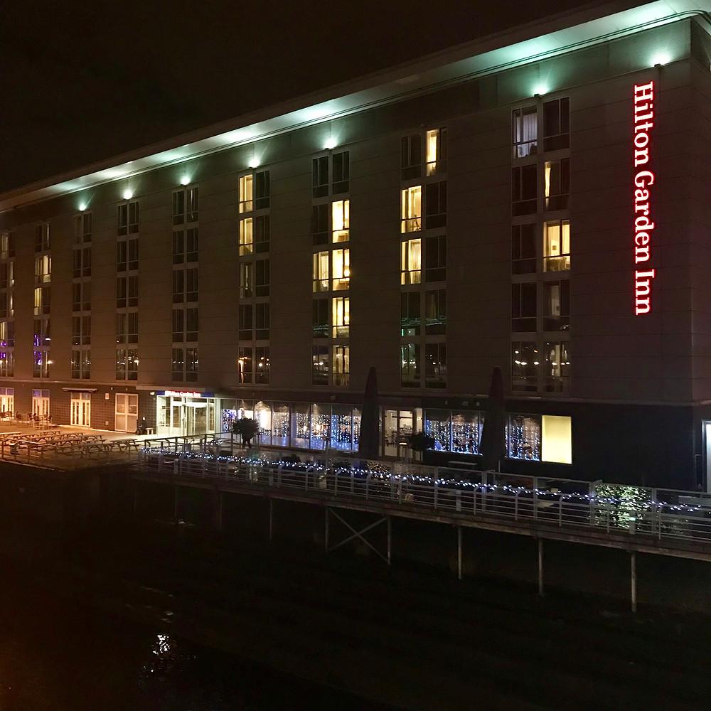 Our hotel - The Hilton Garden Inn