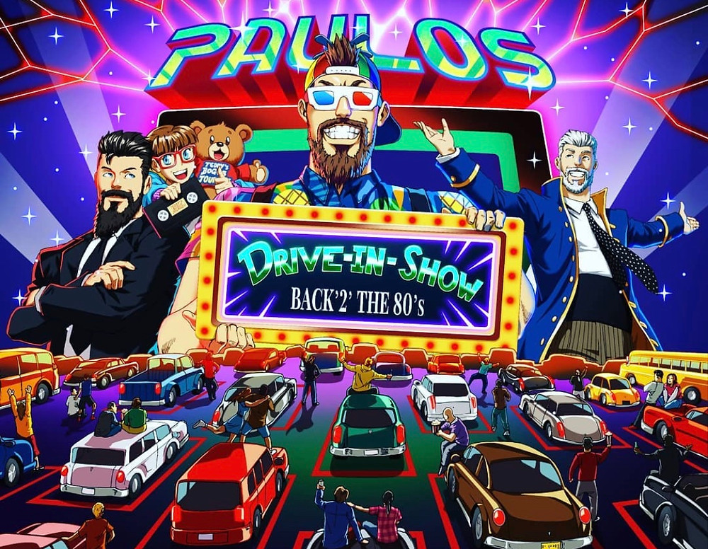 Official poster for Paulos Cirus drive-in