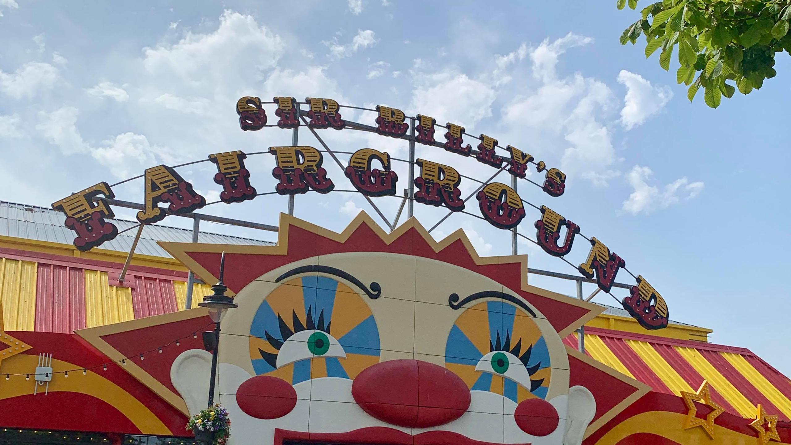 Fairground arcades