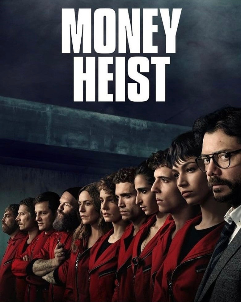 Official poster for Money Heist on Netflix