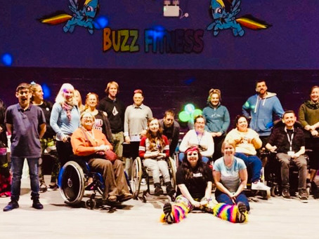Accessible UV Rave - Buzz Fitness Cornwall