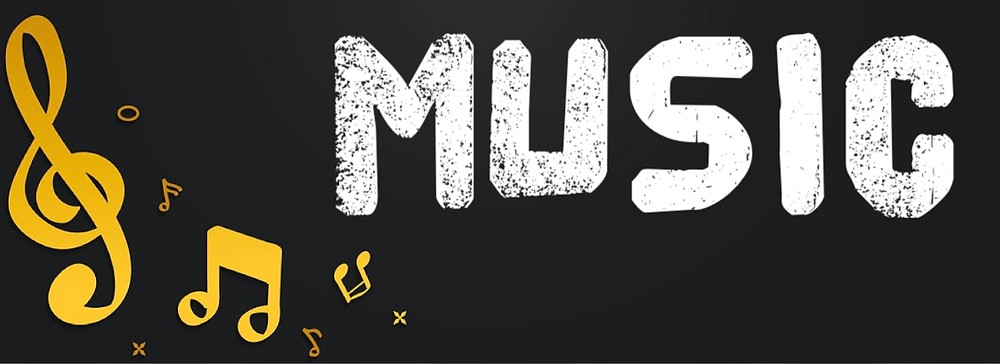Header with the text: MUSIC
