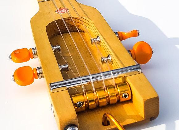 Ukulélé acoustique Pau Amarello-jaune