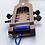 Thumbnail: Ukulélé acoustique jatoba bleu