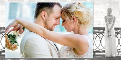 Exemplo de layout de livro de casamento