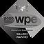 серебряный знак WPE