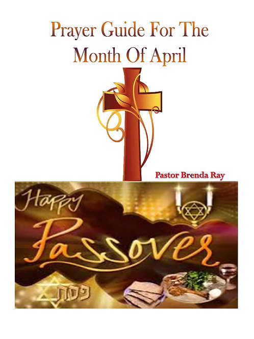 PRAYER GUIDE: MONTH OF APRIL 2016